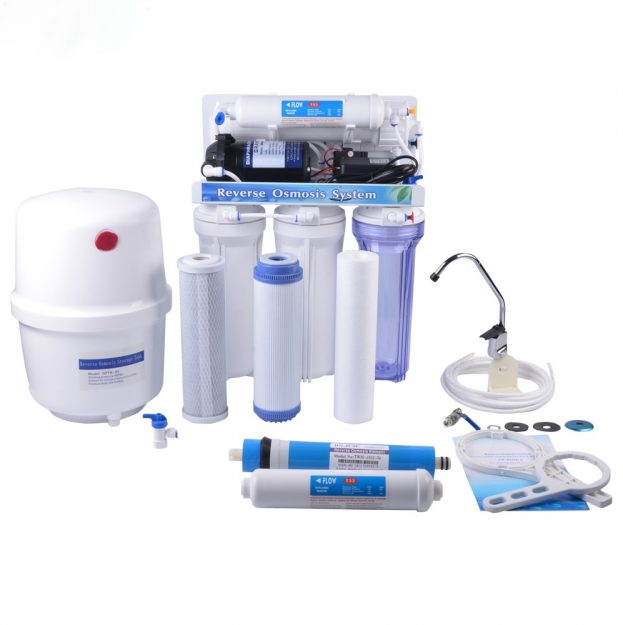 5-Stage-Manual-Flush-Domestic-RO-System-for-Home-Use-NW-RO50-A1-